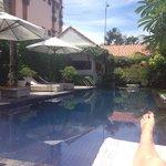 Beautiful peaceful pool