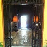 Entryway to hotel