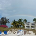 RWI from beach (with bonus double rainbow!)