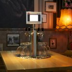 Every table has it`s own beer tap naturally :)