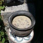 dirty ashtrays
