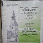La catedral acoge conciertos de música
