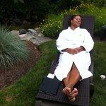 Summer at the spa
