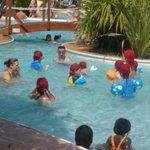 club enfants à la piscine