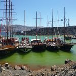 Dock at Nea Kameni