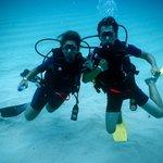 la plongée au milieu des coraux