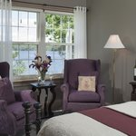 Nature shines in your window in the Cadillac Mountain Suite.
