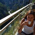 colazione sul canyon