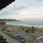 View from 3rd floor room at La Jolla Shores hotel