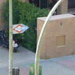 indicador de parada de metro El Capricho
