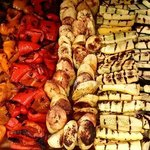vegetables and plantains