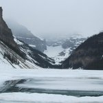 Lake Louise and the glacier
