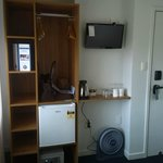 kitchenette and wardrobe in one