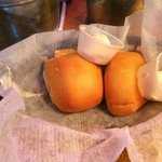 Delicious warm rolls.