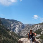 So worth the trek..and the top of Nevada Fall