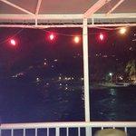 Nighttime ocean view from Beau Beau's