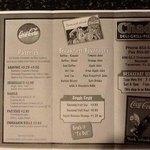 Chad's Breakfast menu side 2