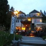 situated off the beaten path on the waterfront in Gibson's