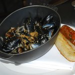 Mussel Marniere - if you love mussels, you won't be disappointed!