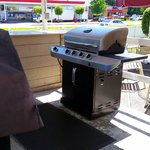 This is one of the barbecues that guests ARE NOT allowed to use