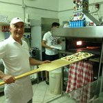 Franco in the kitchen