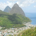 The view of Soufriere