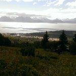 View of Homer, AK