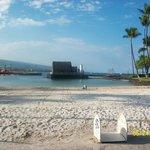 Private white sand beach
