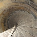 Uncrowded spiral stairs
