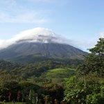 La mejor vista al volcan Arenal