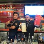 2014 Thailand Bangkok Hard Rock Cafe Bartenders
