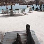 Relaxing beachside!