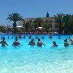 water gym soviva resort 2014 July