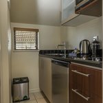 cooking facilities available in all units