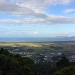 View of Cairns and the Coral Sea