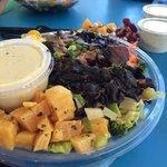 Portabella Mushroom salad.