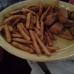 Chicken nugget kid meal