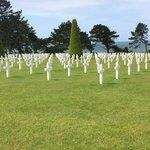 D-Day Memorial Cemetery.