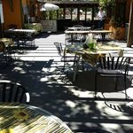 The patio at Schellville grill
