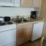 Room Kitchen - Note small fridge