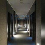 Corridor - a litte dim