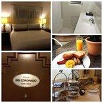 """El Primero Hotel room """"Del Coronado"""""""