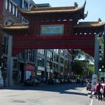 Walk a block or two to get to Chinatown
