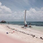 From the beach cabana
