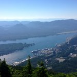 View of Ketchikan from the top