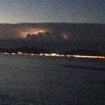Evening storm over pollenca bay