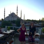 the 'two ladies' and, yes, you guessed it..blue mosque