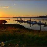 sunset at Alder Bay
