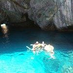 Amazing swim at green grotto