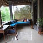 daybed on Indus balcony